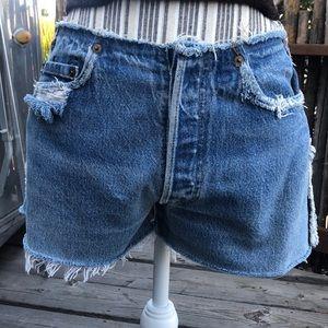 Vintage Distressed Levi's Shorts